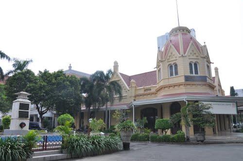 Balai Pemuda Surabaya yang dijadikan Tourist Information Center (TIC) Surabaya